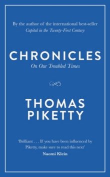 Chronicles : On Our Troubled Times, Hardback