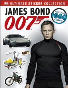 James Bond Ultimate Sticker Collection, Paperback