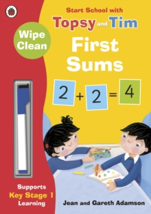 Wipe-Clean First Sums: Start School with Topsy and Tim, Paperback