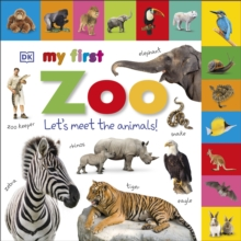 Tabbed Board Books My First Zoo, Board book