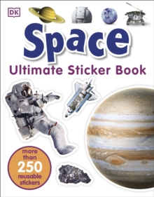 Space Ultimate Sticker Book, Paperback