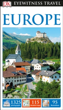 DK Eyewitness Travel Guide Europe, Paperback