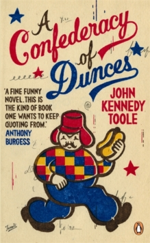 A Confederacy Of Dunces,, Paperback Book