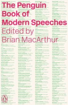 The Penguin Book of Modern Speeches, Paperback