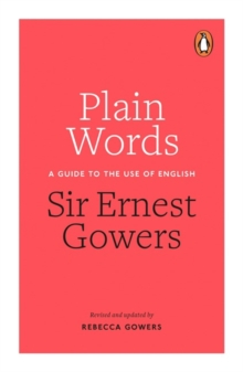 Plain Words, Paperback