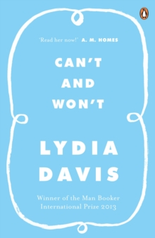 Can't and Won't, Paperback