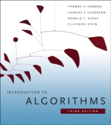 Introduction to Algorithms, Paperback