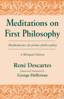 Meditations on First Philosophy, Paperback Book