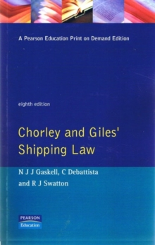 Shipping Law, Paperback