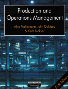 Production and Operations Management, Paperback