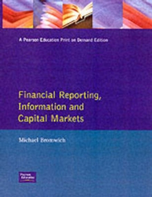 Financial Reporting, Information and Capital Markets, Paperback Book
