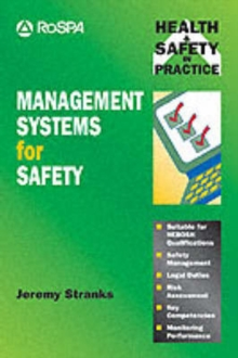 Management Systems for Safety, Paperback