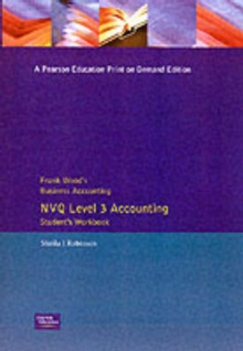 Frank Wood's Business Accounting NVQ Level 3 Accounting Student's Workbook, Paperback Book