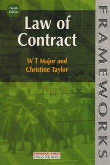 Law of Contract, Paperback Book