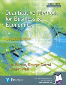 Quantitative Methods for Business and Economics, Paperback Book