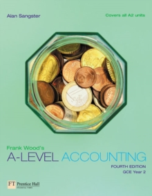 Frank Wood's A-Level Accounting, Paperback Book