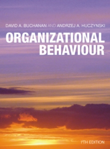 Organizational Behaviour Plus Companion Website Access Card : AND Companion Website Access Card, Mixed media product