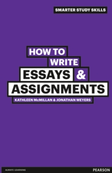 How to Write Essays & Assignments, Paperback
