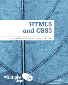 HTML5 and CSS3 in Simple Steps, Paperback