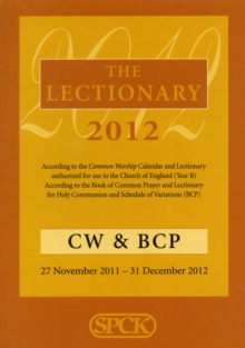 The Lectionary 2012 : Common Worship and Book of Common Prayer, Paperback