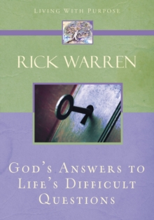 God's Answers to Life's Difficult Questions, Paperback