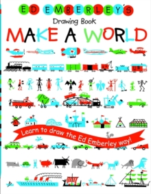 Ed Emberley's Drawing Book : Make a World, Paperback