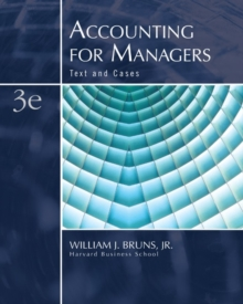 Accounting for Managers : Text and Cases, Hardback
