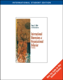 International Dimensions of Organizational Behavior, Paperback