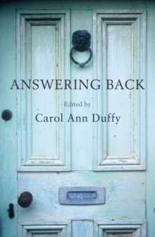 Answering Back : Living Poets Reply to the Poetry of the Past, Paperback Book