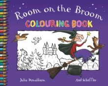 Room on the Broom Colouring Book, Paperback