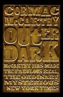 Outer Dark, Paperback