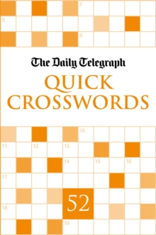 Daily Telegraph Quick Crosswords 52, Paperback
