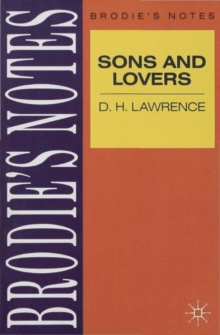 "Lawrence: ""Sons and Lovers"", Paperback Book"