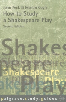 How to Study a Shakespeare Play, Paperback