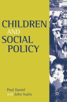 Children and Social Policy, Paperback