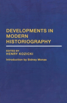 Developments in Modern Historiography, Paperback