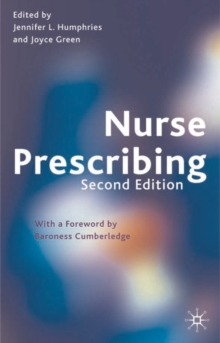 Nurse Prescribing, Paperback Book