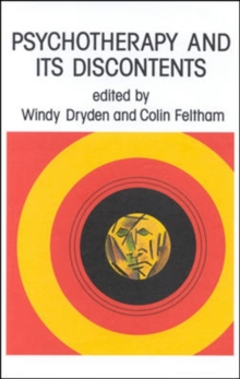 Psychotherapy and Its Discontents, Paperback Book