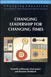 Changing Leadership for Changing Times, Paperback Book