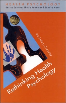 Rethinking Health Psychology, Paperback