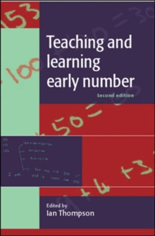 Teaching and Learning Early Number, Paperback
