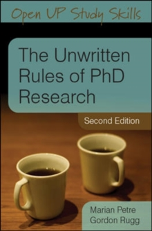 The Unwritten Rules of PhD Research, Paperback