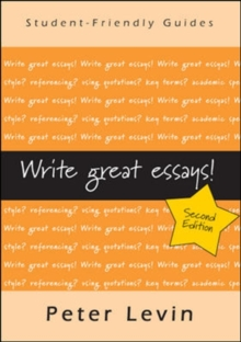 Write Great Essays!, Paperback Book