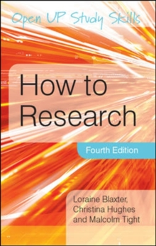 How to Research, Paperback Book