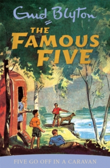 Five go Off in a Caravan : Book 5, Paperback