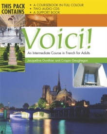 Voici CD Complete Pack : An Intermediate Course in French for Adults, Mixed media product