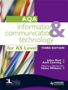 Information and Communication Technology for AQA AS : With Dynamic Learning Student Online, Paperback