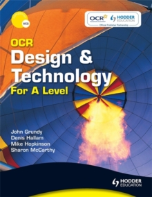 OCR Design and Technology for A Level, Paperback