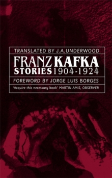 Franz Kafka Stories 1904-1924, Paperback