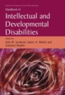 Image of Handbook of Intellectual and Developmental Disabilities